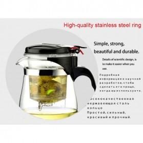 OneTwoCups Teko Pitcher Teh Chinese Teapot Maker 500ml - TP-757 - Transparent - 7