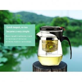 OneTwoCups Teko Pitcher Teh Chinese Teapot Maker 500ml - TP-757 - Transparent - 10