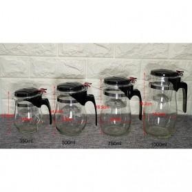 OneTwoCups Teko Pitcher Teh Chinese Teapot Maker 500ml - TP-757 - Transparent - 12