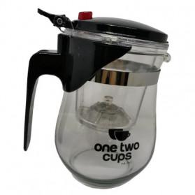 OneTwoCups Teko Pitcher Teh Chinese Teapot Maker 500ml - TP-757 - Transparent - 13