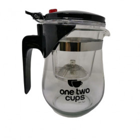 OneTwoCups Teko Pitcher Teh Chinese Teapot Maker 500ml - TP-757 - Transparent - 15