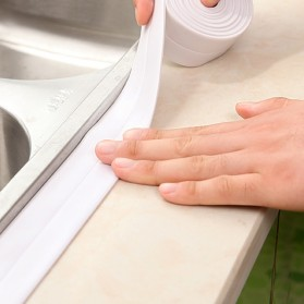 Mildew Sealing Strip Sticker PVC Dapur Kamar Mandi 3.2m 2.2cm - White