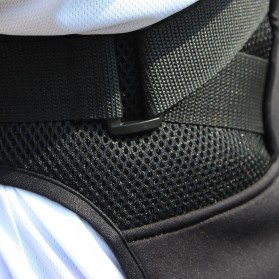 Gamakatsu Ikat Pinggang Bantal Alas Duduk Memancing Anti Slip Cushion - JT229 - Black - 3