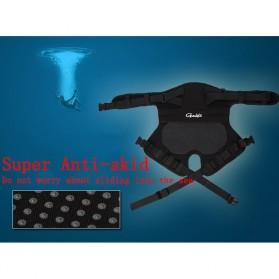 Gamakatsu Ikat Pinggang Bantal Alas Duduk Memancing Anti Slip Cushion - JT229 - Black - 8