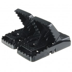 MENGXIANG Jebakan Perangkap Tikus Black Cat Mouse Trap 2 PCS - JB56 - Black - 6