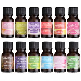 Taffware HUMI Pure Essential Fragrance Oils Minyak Aromatherapy Diffusers 10ml Lavender - TSLM1 - 6