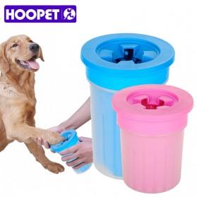 HOOPET Pembersih Kaki Anjing Kucing Foot Pet Cleaner Size M - G18 - Blue