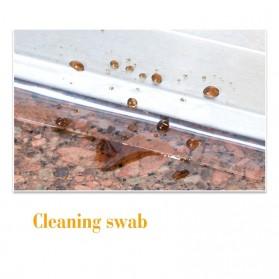 Alloet Lakban Waterproof Dapur Kitchen Sink Seal Tape 0.8x20mm 3 Meter - YK-468 - Transparent - 10