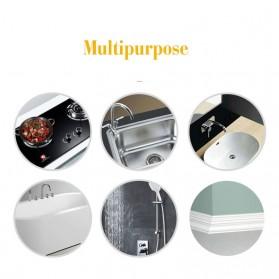 Alloet Lakban Waterproof Dapur Kitchen Sink Seal Tape 0.8x20mm 3 Meter - YK-468 - Transparent - 6