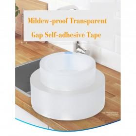 Alloet Lakban Waterproof Dapur Kitchen Sink Seal Tape 0.8x20mm 3 Meter - YK-468 - Transparent - 7