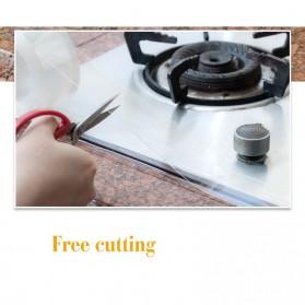 Alloet Lakban Waterproof Dapur Kitchen Sink Seal Tape 0.8x20mm 3 Meter - YK-468 - Transparent - 8