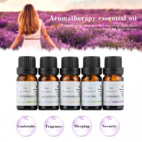 Firstsun Set Pure Essential Fragrance Oils Minyak Aromatherapy Diffusers 10ml 5PCS - RH-05 - 3