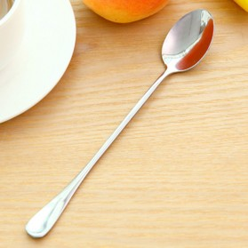 KANNERT Sendok Teh Gagang Panjang Long Handled Tea Spoon Stainless Steel - RR-11 - Silver - 3