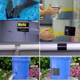 Swift Lakban Anti Bocor Waterproof Super Strong Leak Stop Repair Tape 18x152cm - FL33331 - Black - 10