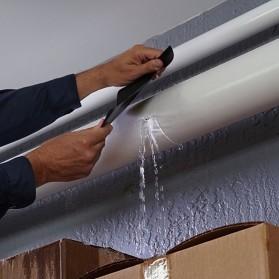 Swift Lakban Anti Bocor Waterproof Super Strong Leak Stop Repair Tape 18x152cm - FL33331 - Black - 5
