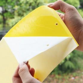 ISHOWTIENDA Lem Perangkap Nyamuk Lalat Glue Sticker Sticky Board Catching Aphids Insects 60PCS - HG059 - Yellow - 2