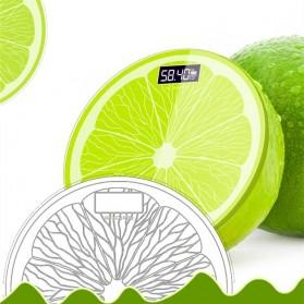 Taffware Digipounds Timbangan Badan Digital Lemon Scale USB Rechargeable Version - SC-14 - Green - 4