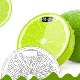 Taffware Digipounds Timbangan Badan Digital Lemon Scale Battery Version - SC-14 - Green - 4