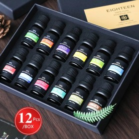Eighteen Pure Essential Fragrance Oils Minyak Aromatherapy Diffusers 10ml 6 PCS - TSLM3 - 2