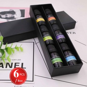Eighteen Pure Essential Fragrance Oils Minyak Aromatherapy Diffusers 10ml 6 PCS - TSLM3 - 4