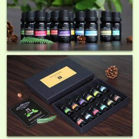 Eighteen Pure Essential Fragrance Oils Minyak Aromatherapy Diffusers 10ml 6 PCS - TSLM3 - 5