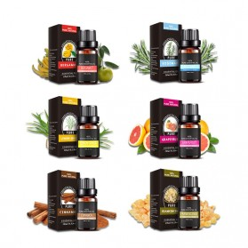 Eighteen Pure Essential Fragrance Oils Minyak Aromatherapy Diffusers 10ml 6 PCS - TSLM3 - 6