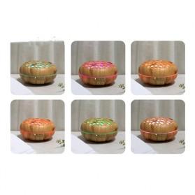 Taffware Aromatherapy Air Humidifier Wood 350ml with LED RGB - AJ-19002 - Yellowish Brown - 8