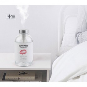 Taffware Aromatherapy Air Humidifier Bottle Design 550ml - AJ-550 - Transparent - 2