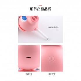Cikuso Aromatherapy Air Humidifier Cute Pig Bath Design 250ml - AJ-207 - Pink - 2