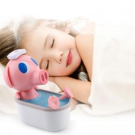 Cikuso Aromatherapy Air Humidifier Cute Pig Bath Design 250ml - AJ-207 - Pink - 3