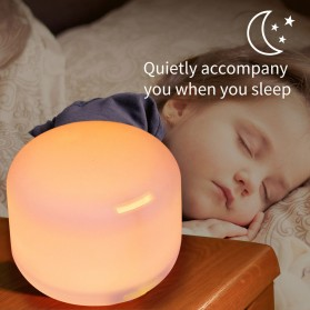 FUNHO Air Humidifier Ultrasonic Aromatherapy Oil Diffuser 300ml with LED RGB - AJ211 - White - 3