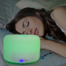 FUNHO Air Humidifier Ultrasonic Aromatherapy Oil Diffuser 300ml with LED RGB - AJ211 - White - 5