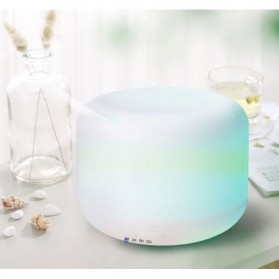 FUNHO Air Humidifier Ultrasonic Aromatherapy Oil Diffuser 300ml with LED RGB - AJ211 - White - 7