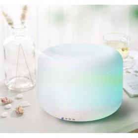 FUNHO Aromatherapy Air Humidifier Ultrasonic 300ml with LED RGB - AJ211 - White - 7