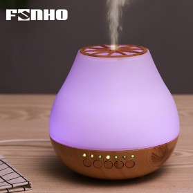 FUNHO Aromatherapy Air Humidifier Wood 400ml with LED RGB - AJ-504 - Wooden