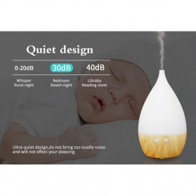 FUNHO Aromatherapy Air Humidifier Wood 150ml with LED RGB - AJ-509 - Wooden - 4