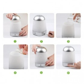 FUNHO Aromatherapy Air Humidifier USB 250ml with LED RGB - AJ-212 - Transparent - 8