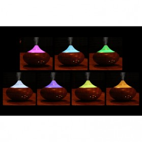 FUNHO Aromatherapy Air Humidifier Wood 210ml with LED RGB - AJ-507 - Wooden - 5
