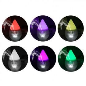 FUNHO Aromatherapy Air Humidifier Egg Design with LED RGB - AJ-500 - White - 2