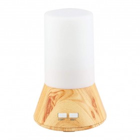 FUNHO Aromatherapy Air Humidifier Wood 125ml with LED RGB - AJ-125 - Wooden - 1