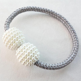 Arbitrary Tali Pengikat Tirai Gorden Magnetic Curtain Clip - A65 - Blue - 2