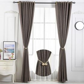 Arbitrary Tali Pengikat Tirai Gorden Magnetic Curtain Clip - A66 - Golden - 5