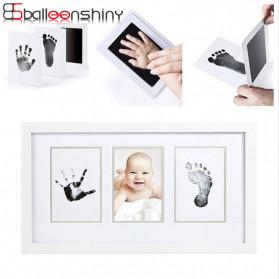 BalleenShiny Tinta Handprint Footprint Bayi Newborn Souvenir Casting Non-Toxic Ink - TZ5819 - Black - 1