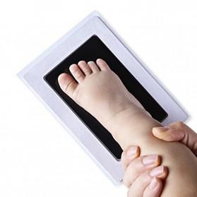BalleenShiny Tinta Handprint Footprint Bayi Newborn Souvenir Casting Non-Toxic Ink - TZ5819 - Black - 4