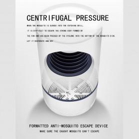 Aleekit Pembasmi Nyamuk Mosquito Lamp Killer USB UV Vortex Purple Light - 188 - White - 3