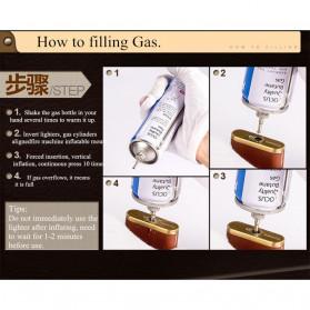 DOLPHIN Korek Api Butane Compact Lighter - HY262 - Multi-Color - 6