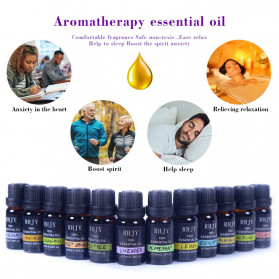 Firstsun Pure Essential Oils Minyak Aromatherapy Diffusers 10ml Lavender - RH-11 - 5