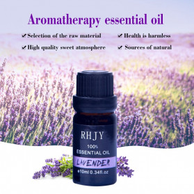 Firstsun Pure Essential Oils Minyak Aromatherapy Diffusers 10ml Lavender - RH-11 - 7