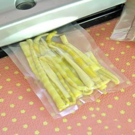 Kantong Plastik Vacuum Sealer Storage Bag 20x30cm 100 PCS - HK-08 - Transparent - 4