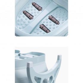 Cyan Baskom Air Lipat Rendam Kaki Pedicure Manicure SPA Foldable Collapsible - SN316 - Blue - 9